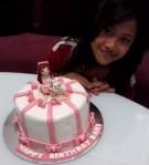 dani and cake
