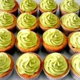 Butter cream cupcake untuk Queenette, belum dihias topper :-)