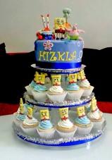 Sponge Bob Square Pants Cupcake stand